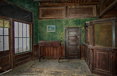 Photograph - Old Time Bank by Kathy Williams-Walkup