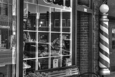 Photograph - Old Time Barber Shop by Roger Passman