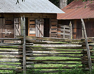 Photograph - Old Time Barns 2 by Sheri McLeroy