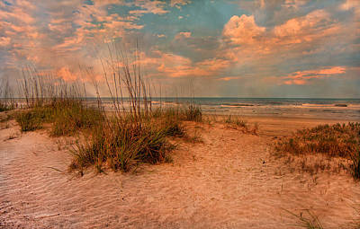 Seagrass Photograph - Old Time Beach by Betsy Knapp