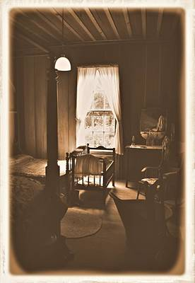 Photograph - Old Time Bedroom 1 by Sheri McLeroy
