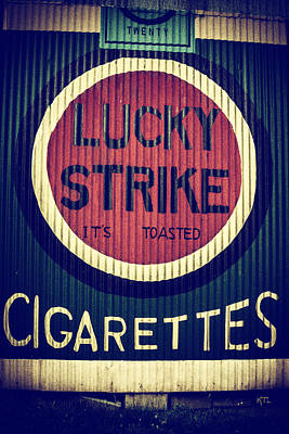 Old Time Cigarettes Art Print