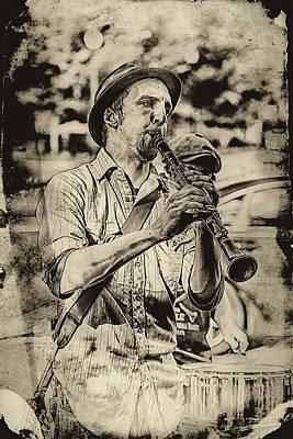 Old Time Clarinet Music Art Print by John Haldane