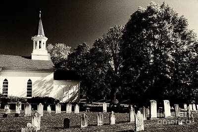 Photograph - Old-time Country Church by Paul W Faust -  Impressions of Light