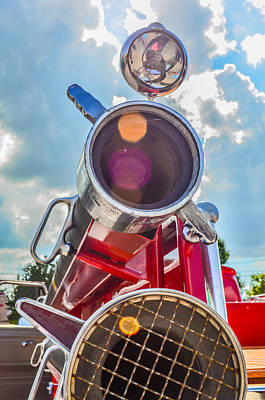 Photograph - Old Time Fire Truck Series by Kelly Kitchens