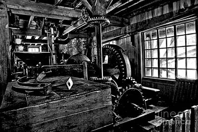 Photograph - Old Time Gears by Adam Jewell