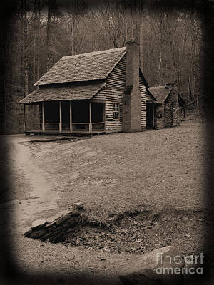 Photograph - Old Time Homestead by Michael Creamer