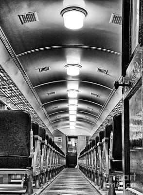 Photograph - Old Time Passenger Car by Paul W Faust -  Impressions of Light