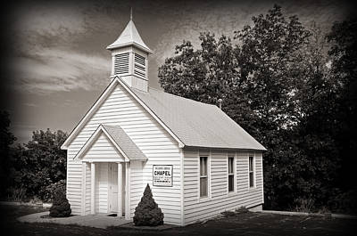 Religious Art Photograph - Old Time Religion by Steven  Michael