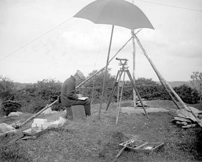 Photograph - Old Time Surveyor by William Haggart