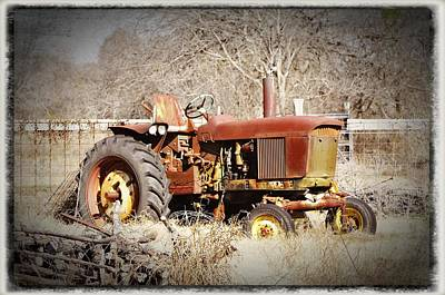 Photograph - Old Timer by Cherie Haines