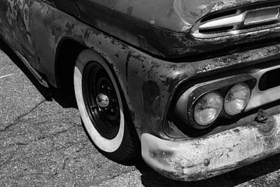 Chipping Paint Photograph - Old Timer by Luke Moore