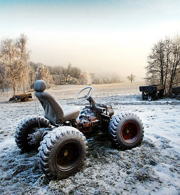 Old Times - Frosty Tractor Original