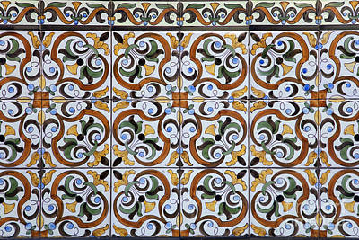 Abstract Pattern Photograph - Old Times by Jose Elias - Sofia Pereira
