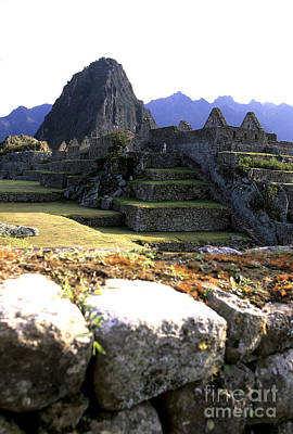 Photograph - Old Times Macchu Picchu by Ryan Fox