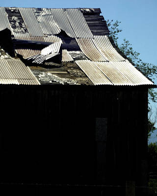 Jerry Sodorff Royalty-Free and Rights-Managed Images - Old Tin Roof 12788 by Jerry Sodorff