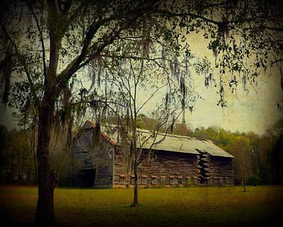 Rural Decay Digital Art - Old Tobacco Barn by Carla Parris