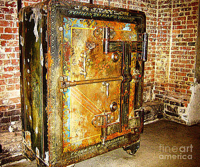 Photograph - Old Toronto Safe by Nina Silver