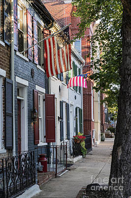 Gas Lamp Photograph - Old Town Alexandria by John Greim