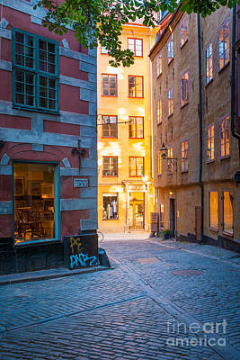 Old Town Alley Art Print
