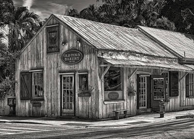 Photograph - Old Town Bakery - Key West - Circa 1877-1977 by Frank J Benz
