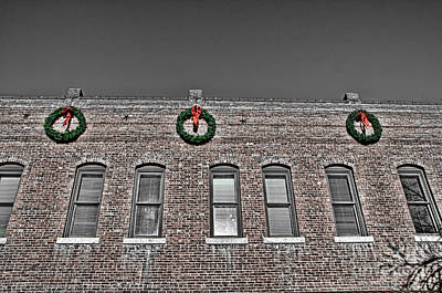 Fort Collins Photograph - Old Town Christmas by Baywest Imaging