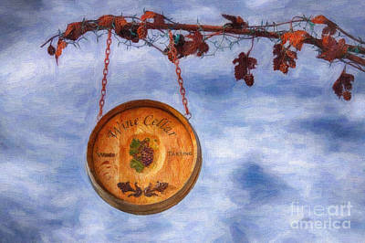 Verde Valley Wine Trail Print by Priscilla Burgers