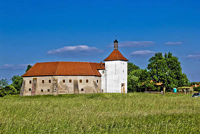 Photograph - Old Town Fortress In Durdevac Croatia by Brch Photography