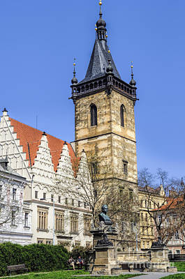 Photograph - Old Town Hall In Prague by Brenda Kean