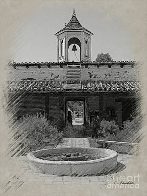 Photograph - Estudillo House by Claudia Ellis