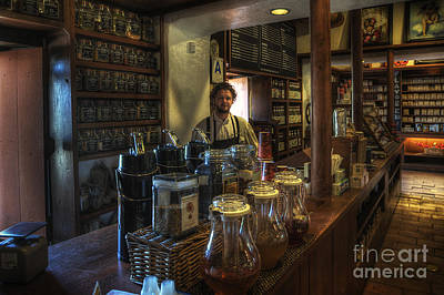 Photograph - Old Town House Coffee by Yhun Suarez