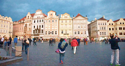 Photograph - Old Town In Prague by Caroline Stella