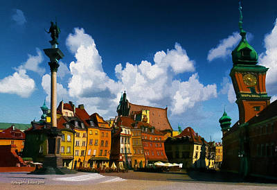 Photograph - Old Town In Warsaw #7 by Aleksander Rotner