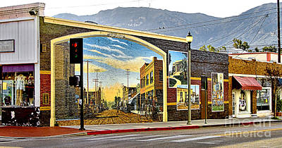 Art Print featuring the photograph Old Town Mural by Jason Abando