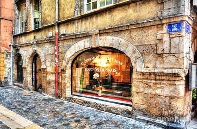 Photograph - Old Town Of Lyon 4 by Mel Steinhauer