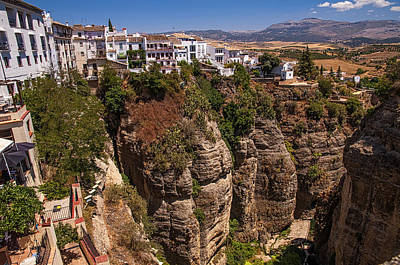 Photograph - Old Town Of Ronda. Spain by Jenny Rainbow