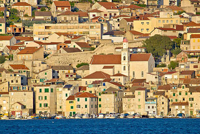 Photograph - Old Town Of Sibenik Waterfront by Brch Photography