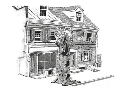 Old Town Philadelphia Art Print by Paul Kmiotek