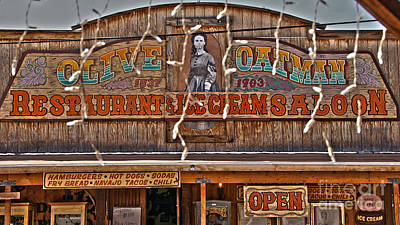 Old Town Saloon Art Print