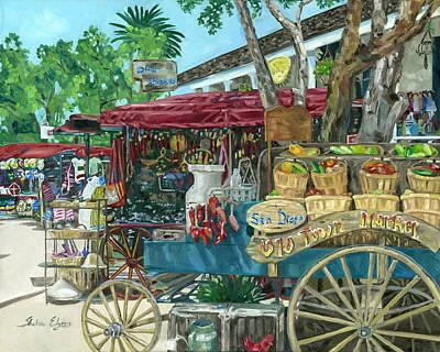 Old Town San Diego Market Original by Shalece Elynne