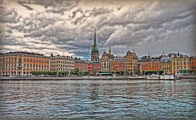 Photograph - Old Town Stockholm by Hanny Heim