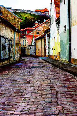 City Digital Art - Old Town Stories by Yevgeni Kacnelson