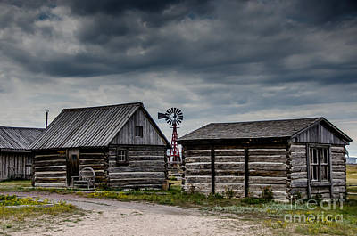 Photograph - Old Town Upton Wyoming by Debra Martz