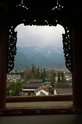 Rooftop Photograph - Old Town Viewed From North Gate, Dali by Panoramic Images
