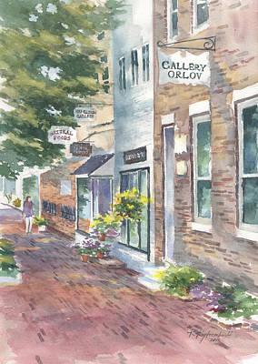 Painting - Old Town Virginia by Kerry Kupferschmidt