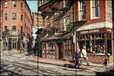 Photograph - Old Towne Boston II by Mary Lou Chmura