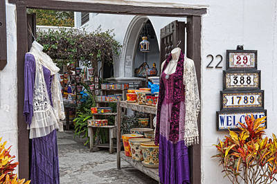 Photograph - Old Towne Shoppe by Keith Swango