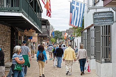 Photograph - Old Towne St Augustine by Keith Swango