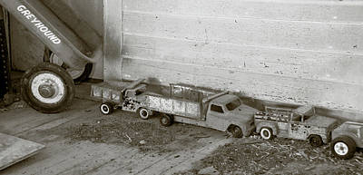 Photograph - Old Toys I by Guy Whiteley