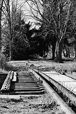 Photograph - Old Tracks by Barbara Bardzik